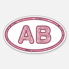 AB Pink Decal