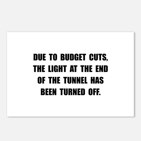 Budget Cuts Postcards (Package of 8)