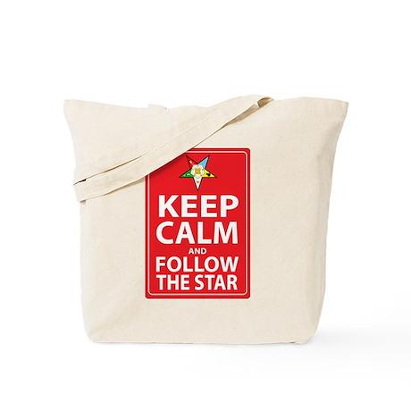 Keep Calm Follow the Star Tote Bag