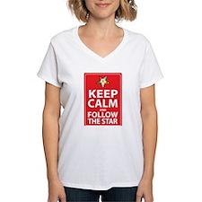 Keep Calm Follow the Star Shirt