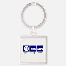 17st.bmp Square Keychain