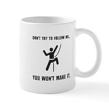 Climbing Make It Mug