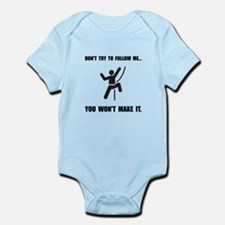 Climbing Make It Infant Bodysuit