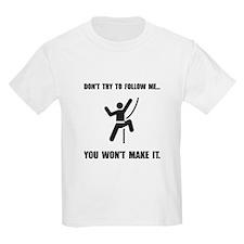 Climbing Make It T-Shirt