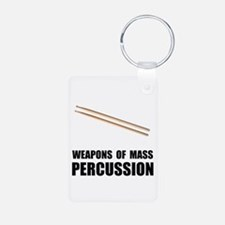 Drum Mass Percussion Keychains