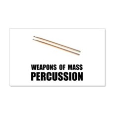 Drum Mass Percussion Wall Sticker