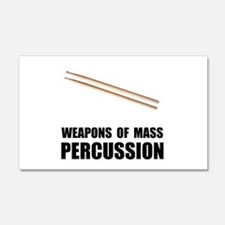 Drum Mass Percussion Wall Decal