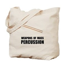 Drum Mass Percussion Tote Bag