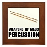 Drum Mass Percussion Framed Tile