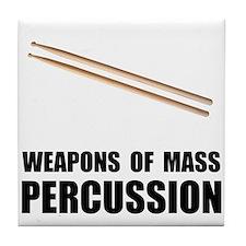 Drum Mass Percussion Tile Coaster