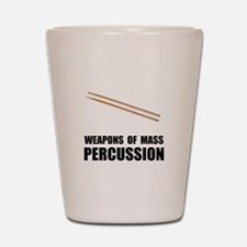 Drum Mass Percussion Shot Glass