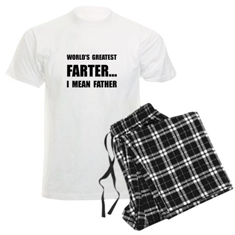 Greatest Farter Men's Light Pajamas