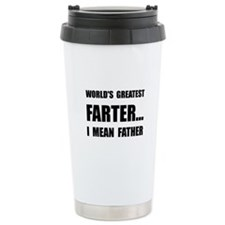 Greatest Farter Travel Coffee Mug