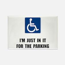 Handicap Parking Rectangle Magnet (10 pack)