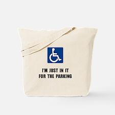 Handicap Parking Tote Bag
