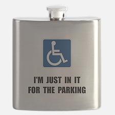Handicap Parking Flask