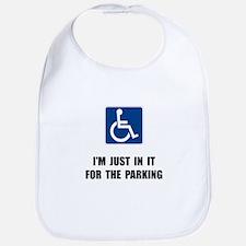 Handicap Parking Bib