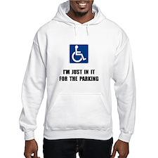 Handicap Parking Hoodie