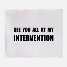 Intervention Throw Blanket