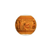 MAAT and AUSET (ISIS) Mini Button