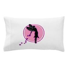 fairyonpinkcircle Pillow Case
