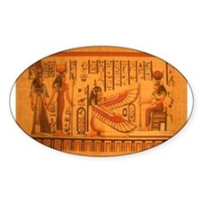 MAAT and AUSET (ISIS) Oval Decal