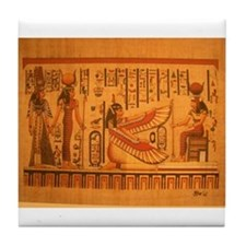 MAAT and AUSET (ISIS) Tile Coaster