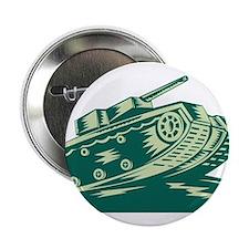 """World War Two Battle Tank 2.25"""" Button"""