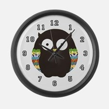 Owl Large Wall Clock