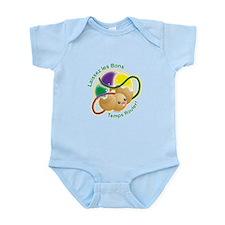 Mardi Gras! Infant Bodysuit