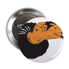 """Vulture Buzzard Head 2.25"""" Button"""