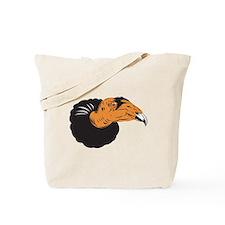 Vulture Buzzard Head Tote Bag