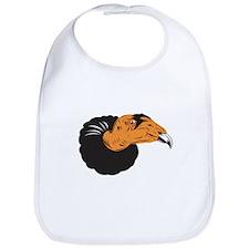 Vulture Buzzard Head Bib