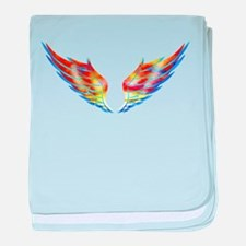 Winged baby blanket