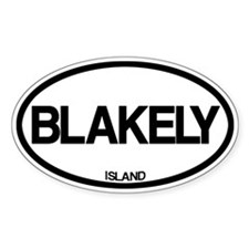Blakely Island Decal