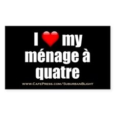 """Love Menage a Quatre"" Decal"