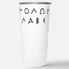 Molon Labe Travel Mug