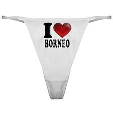 I Heart Borneo Classic Thong