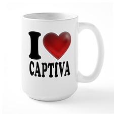 I Heart Captiva Mug