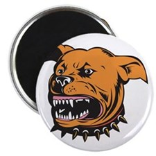 """Angry Mongrel Dog 2.25"""" Magnet (100 pack)"""