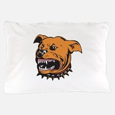 Angry Mongrel Dog Pillow Case