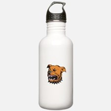 Angry Mongrel Dog Water Bottle