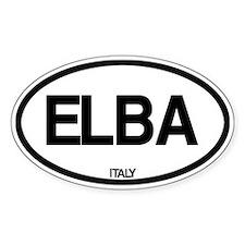 Elba, Italy Decal