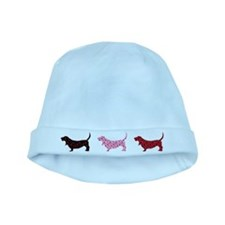 Lovely Bassets baby hat