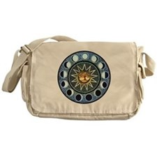 Moon Phases Messenger Bag