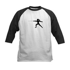Girl Fencer Lunging Tee