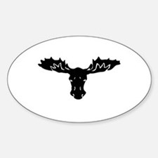 Moose Head Decal
