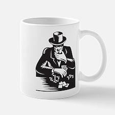 Poker Player Gambler Gambling Retro Mug