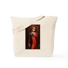 Winter Harlequin II Tote Bag