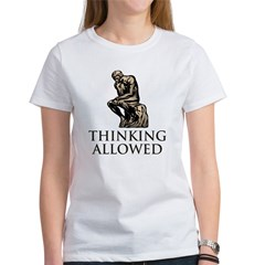 The Thinker's Women's T-Shirt